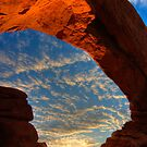 North Window Sunrise - Arches National Park by Clayhaus