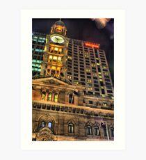 GPO Sydney HDR Art Print