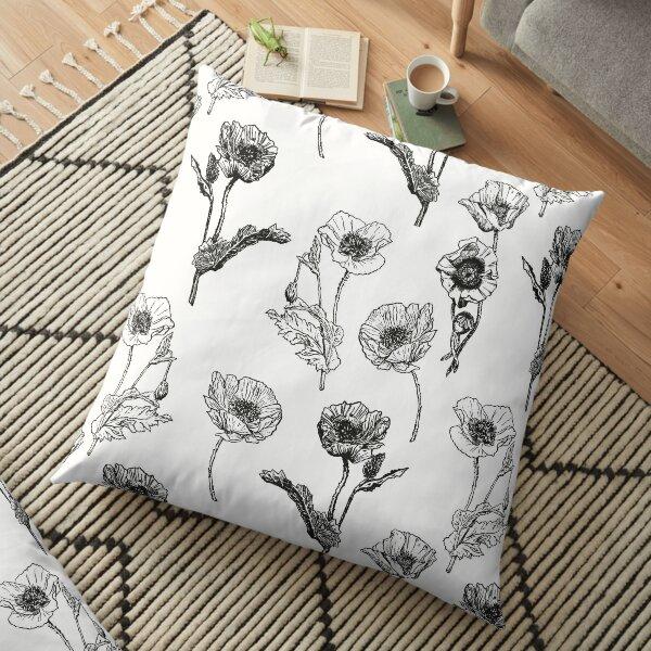 Feeling Poppy Floor Pillow