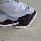 b boy foot by pezore