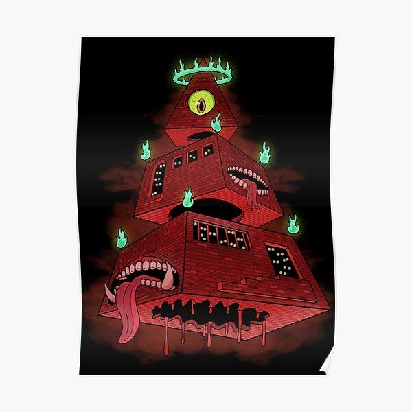 Hell Pyramid Poster
