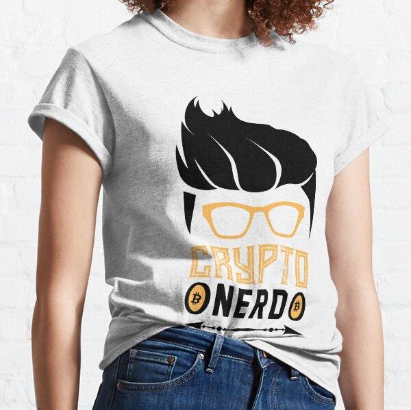 Krypto Nerd mit Haaren Classic T-Shirt