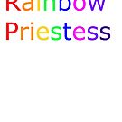 Rainbow Priestess Simple by AnneWednesday
