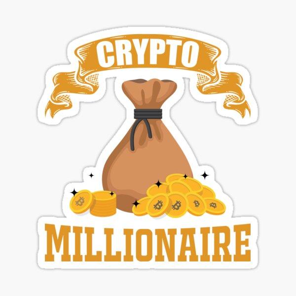 Krypto Millionär Sticker
