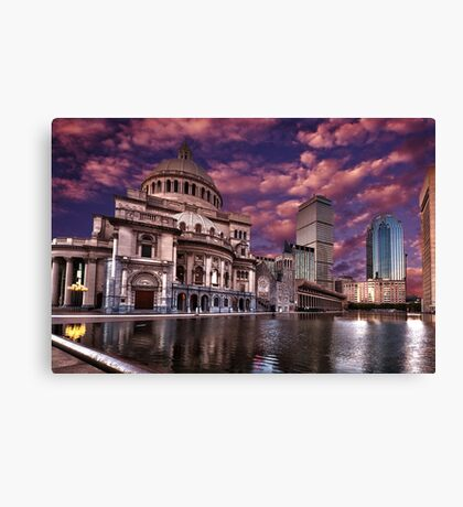 The First Church of Christ, Scientist Canvas Print