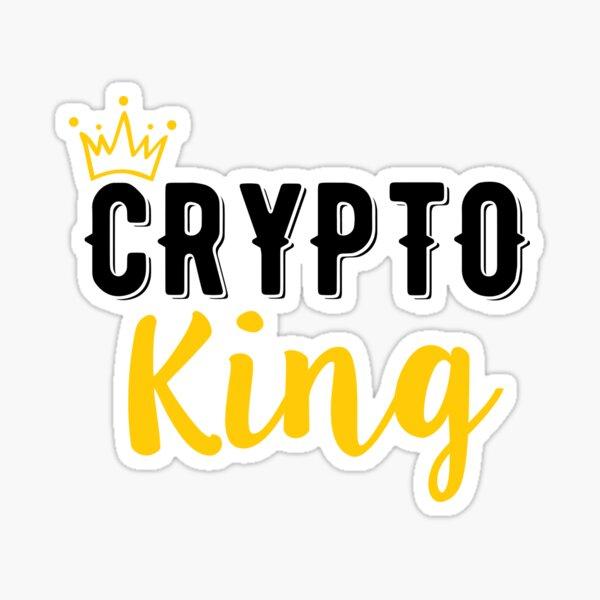 Krypto König Sticker