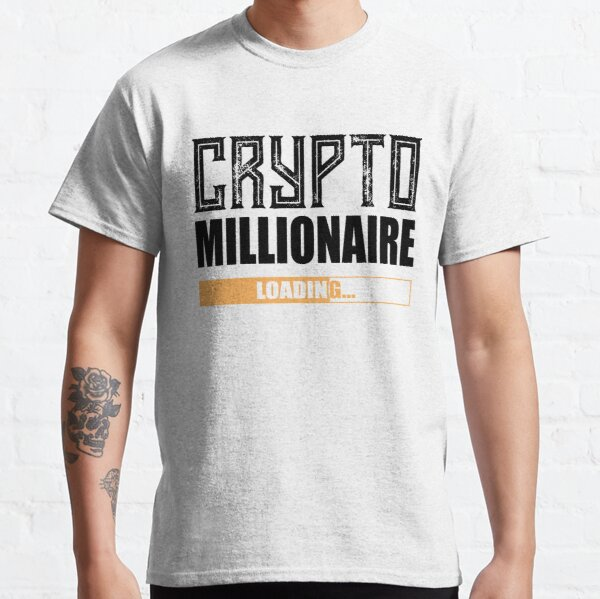 Krypto Millionär ... loading Classic T-Shirt