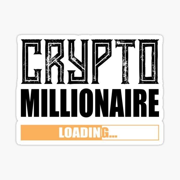 Krypto Millionär ... loading Sticker
