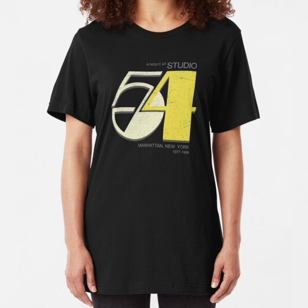 Studio 54 - Night Club Slim Fit T-Shirt