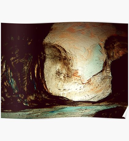 during the darkest of times.... a dream inside a cave Poster