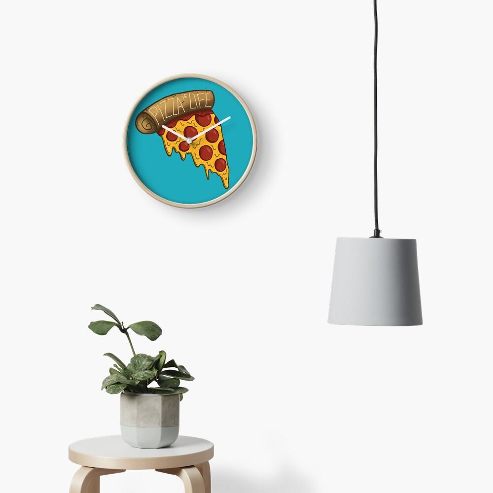 La pizza es VIDA Reloj