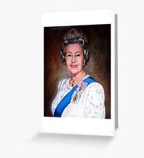 Queen Elizabeth II Greeting Card