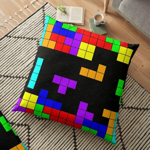 Tetris Making Tetris Fall Floor Pillow