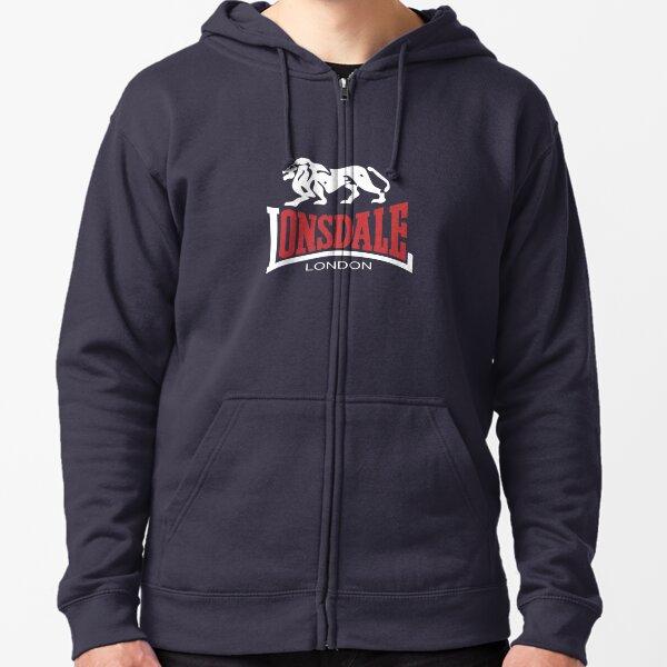 BEST SELLER - Lonsdale London Merchandise Zipped Hoodie