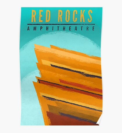 Red Rocks Poster