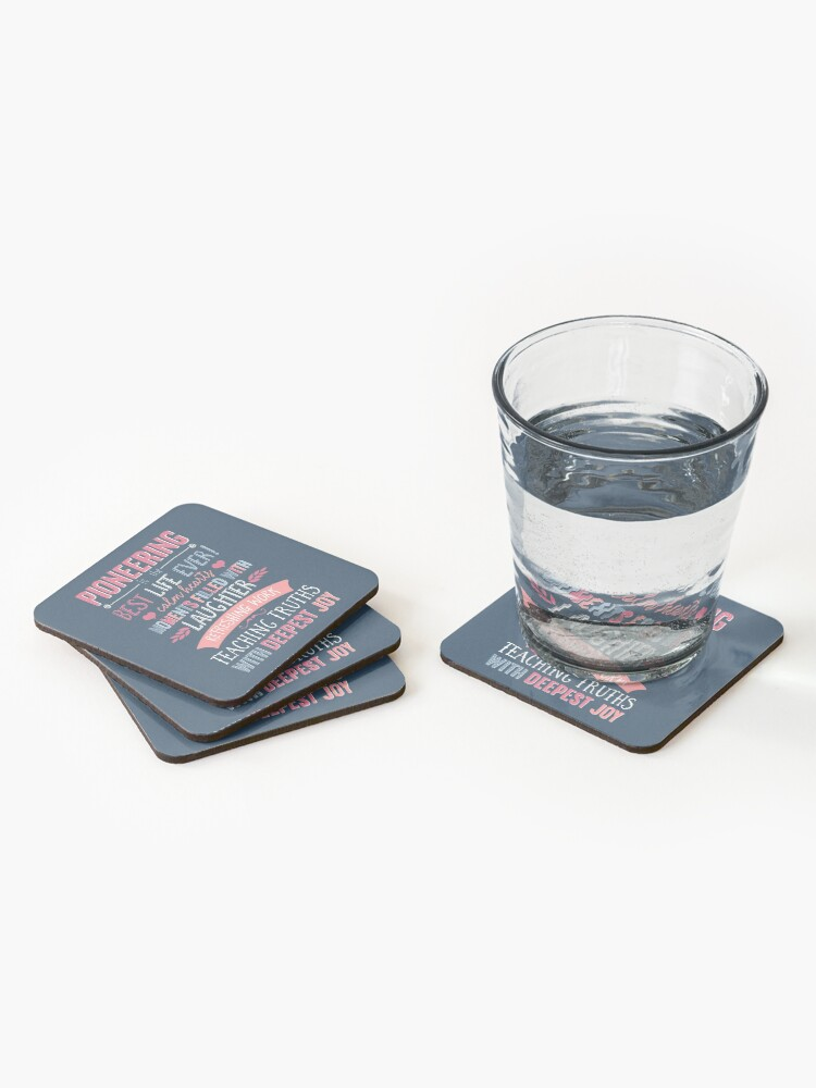 Alternate view of PIONEERING  Coasters (Set of 4)
