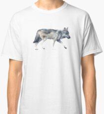 Wolf on Blush Classic T-Shirt