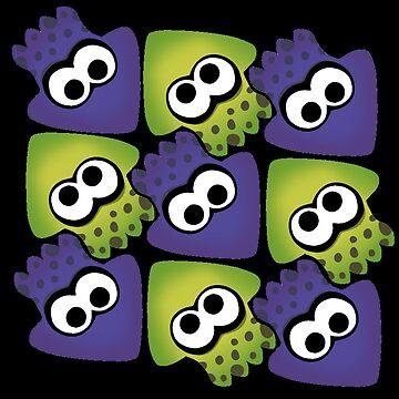 Splatoon Squids by hexmaniacsoph
