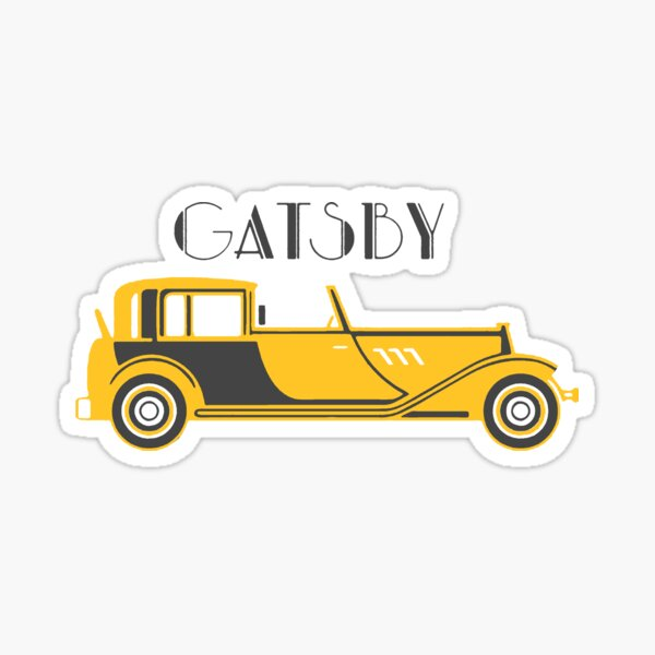 Gatsby Sticker