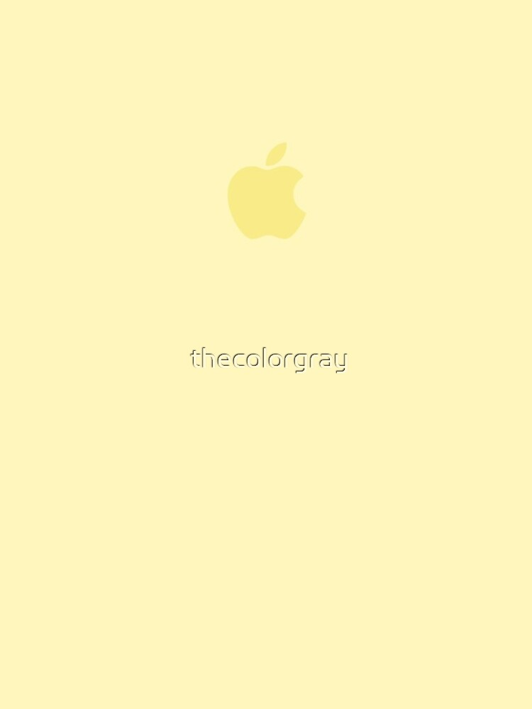 iPhone Case Mellow Yellow by thecolorgray