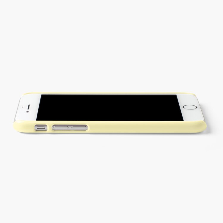 Alternate view of iPhone Case Mellow Yellow iPhone Case & Cover
