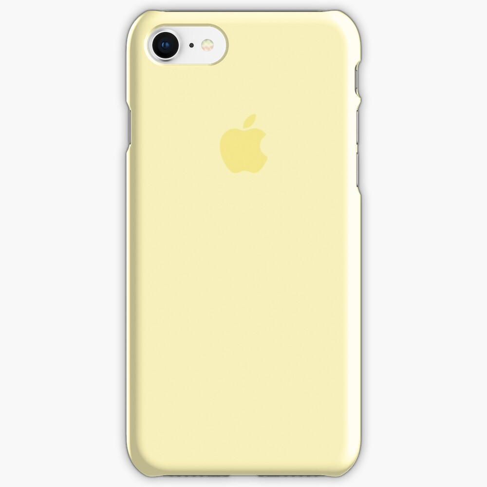 iPhone Case Mellow Yellow iPhone Case & Cover