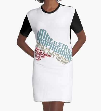 Understand Propaganda -  Graphic T-Shirt Dress