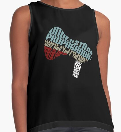Understand Propaganda -  Sleeveless Top