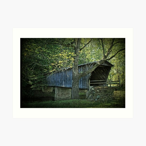 Bob White Covered Bridge Art Print