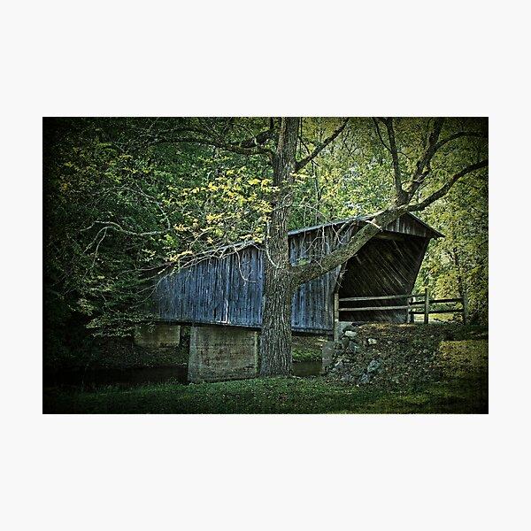 Bob White Covered Bridge Photographic Print
