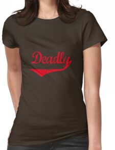 Deadly [-0-] Womens Fitted T-Shirt