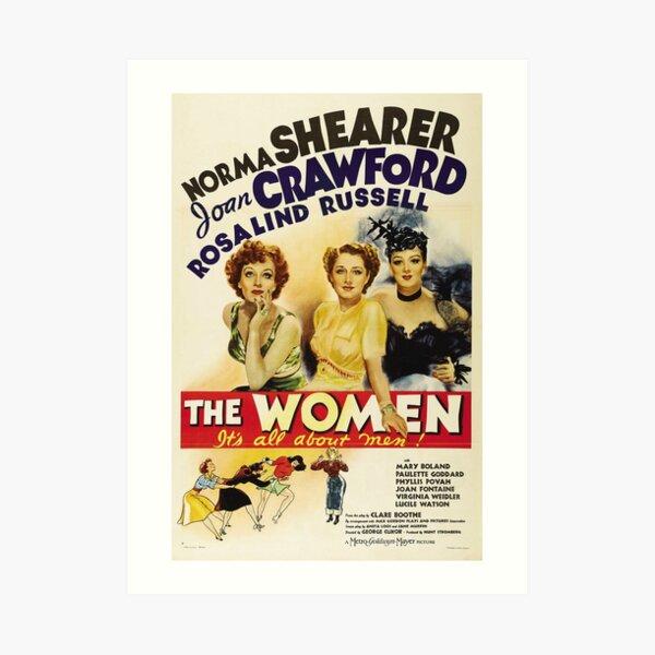 Classic Movie Poster - The Women Art Print
