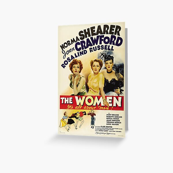 Classic Movie Poster - The Women Greeting Card