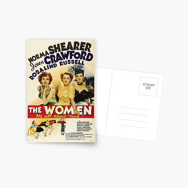 Classic Movie Poster - The Women Postcard