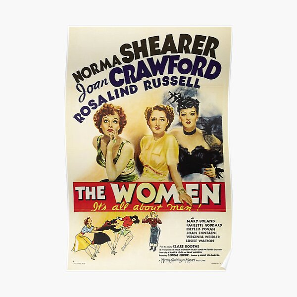 Classic Movie Poster - The Women Poster