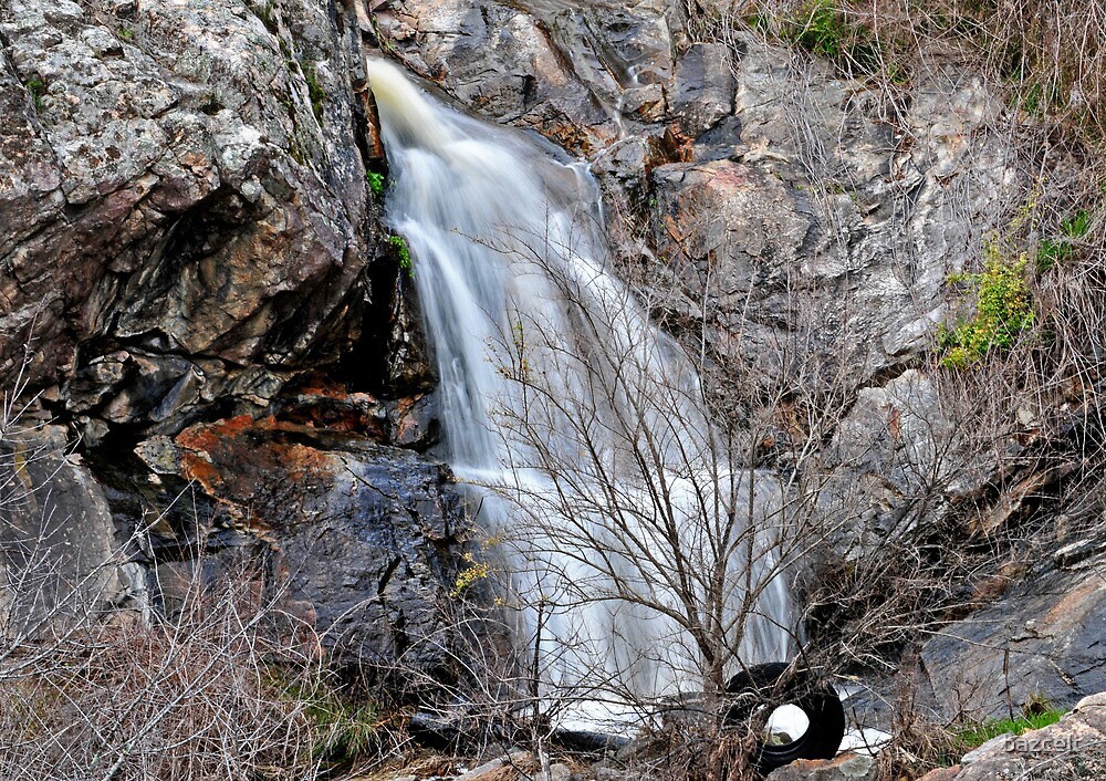 Tyred of Waterfall Pictures? by bazcelt