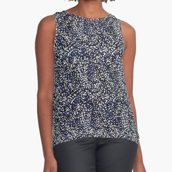 SUMMER DOTS Sleeveless Top