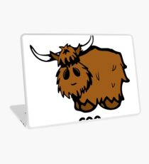 Heilan' Coo - with text Laptop Skin