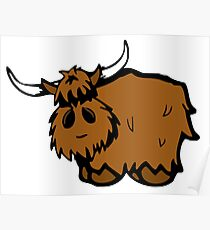 Heilan' Coo Poster