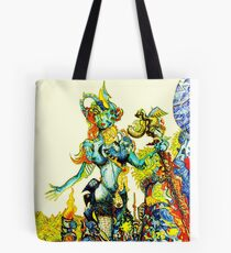 """""""Cyberian"""" Android Goddess MIX 2 Tote Bag"""