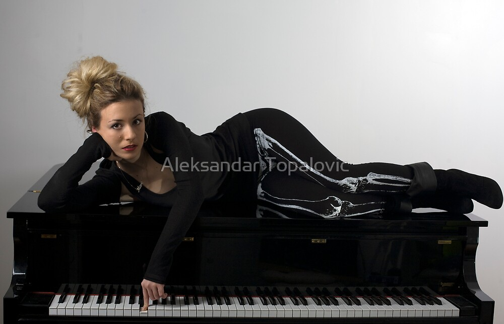 I can't reach the brakes on this piano! by Aleksandar Topalovic