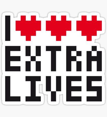 Extra Lives Sticker
