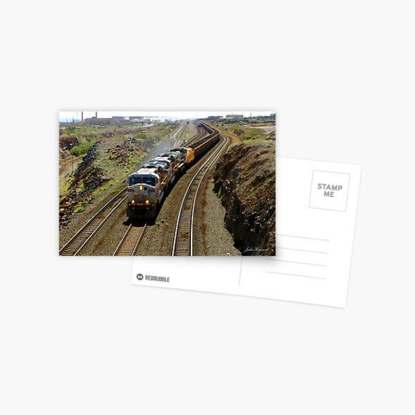 Ore Train, Western Australia Postcard