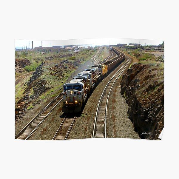 Ore Train, Western Australia Poster