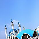 The Mosque - Kazan Kremlin, Russia by J J  Everson