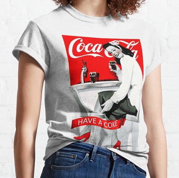 Coca cola viejo comercial Camiseta clásica