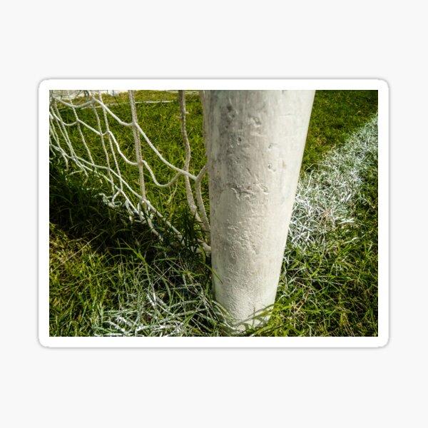 soccer net Sticker