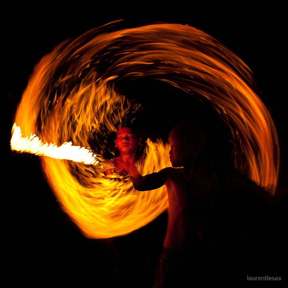 Playing with fire (5) by laurentlesax