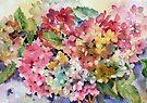 Hydrangeas by Ann Mortimer