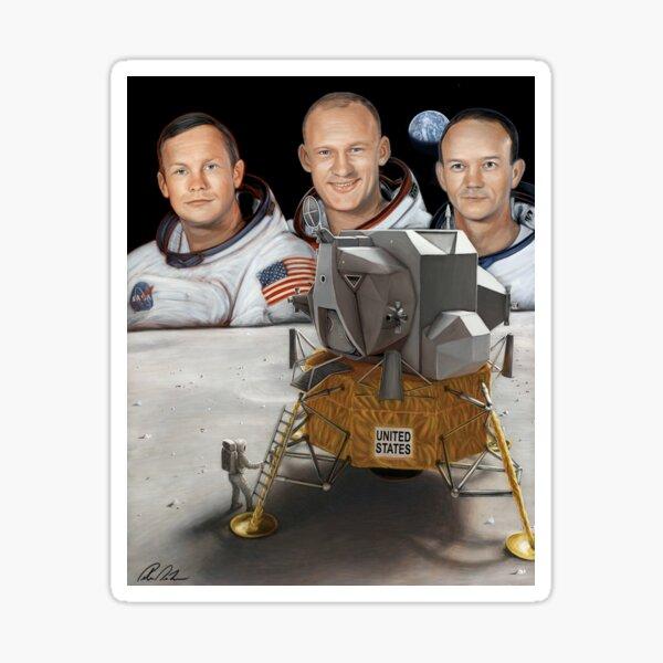Apollo 11: 50th Anniversary Artwork Sticker